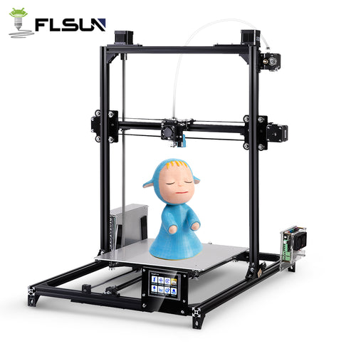 FLSun I3 3D Printer Kit DIY 200*200*220 / 300*300*420mm
