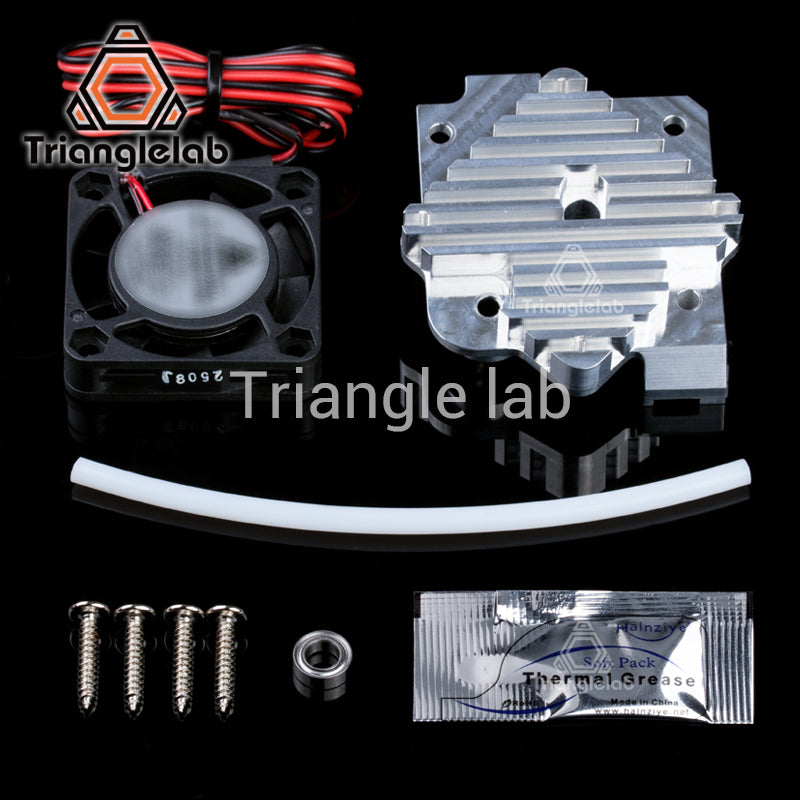 3D Printer Parts 1.75/3mm Aluminum Titan Aero Extruder Upgrade Kit 12V/24V with Fan