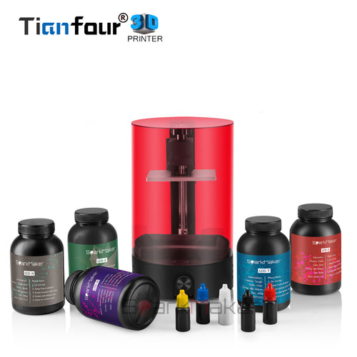 Tianfour Sparkmaker UV Resin DLP / LCD 3D printer RESIN COMBO
