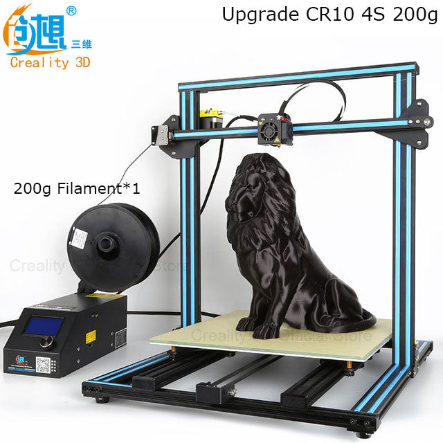 Creality CR-10S Pro CR-10 3D Printer Kit Dual Z Stepper/ Filament Sensor/ Power Off Resume
