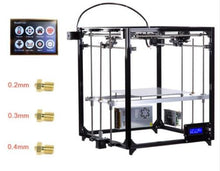 FLSun 3D Printer Kit Large Print Area 260*260*350mm Touch Screen Dual Extruder