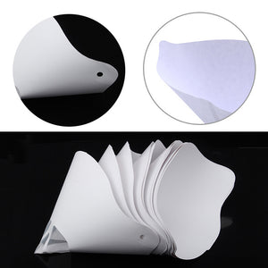 Resin Funnel Disposable Paper Filter for DLP/SLA UV 3D Printer 10/20pcs
