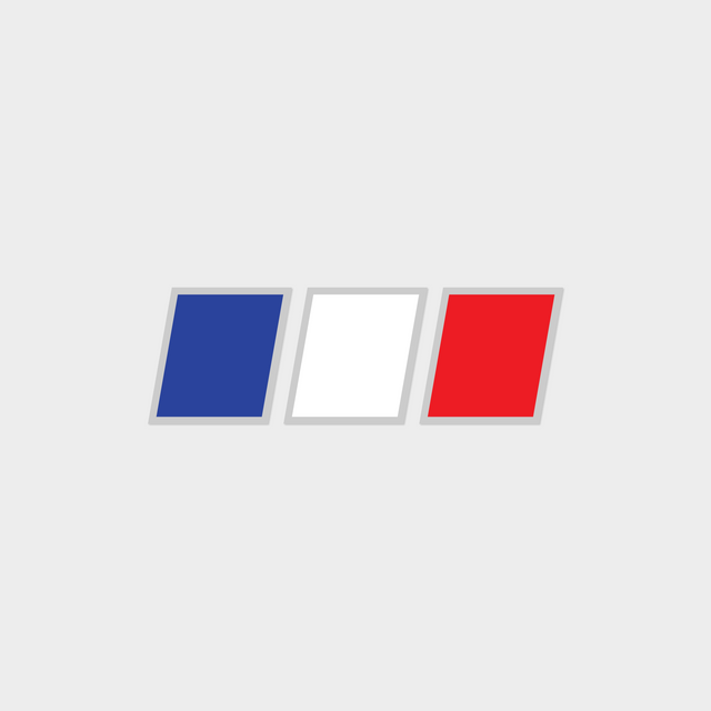 Druck France Chevrons Flag