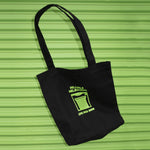 Hillvale Shop Tote — Black and Green
