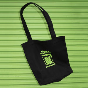 Shop Tote - Black and Green