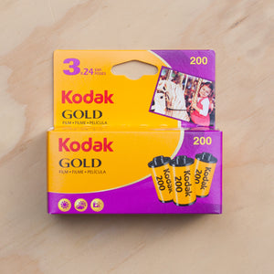 Kodak Gold 200 — 35mm 3 Pack
