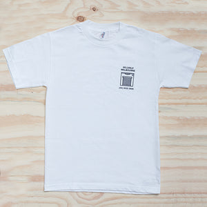Hillvale Shop T-Shirt - White