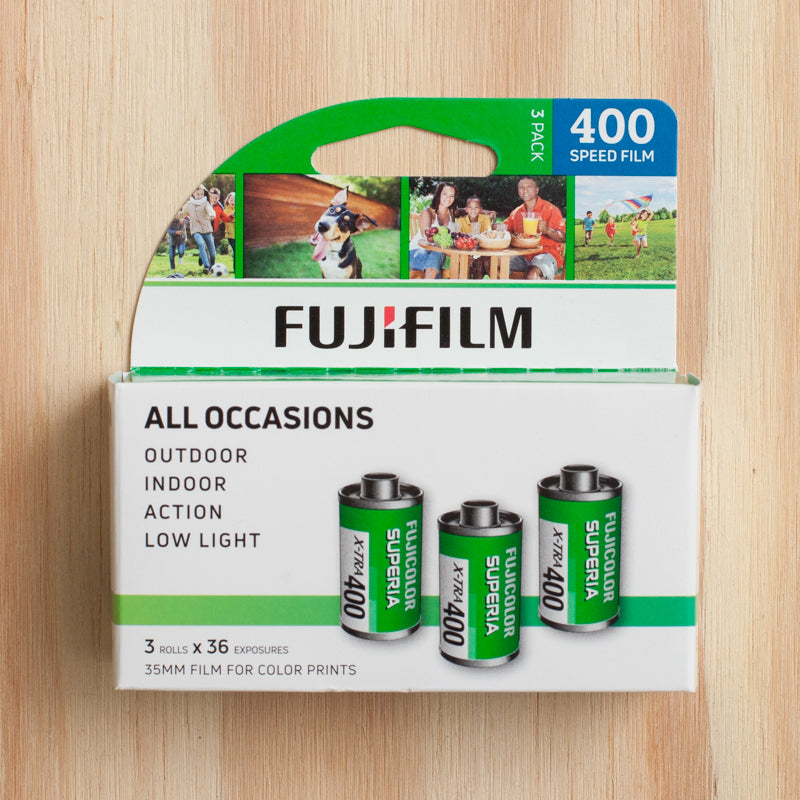 Fujifilm Superia 400 — 35mm 3 Pack
