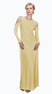 BELLA COLD SHOULDER GOWN