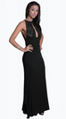 CHLOE V-NECK EMPIRE GOWN
