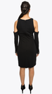 ELEANOR COLD SHOULDER DRESS