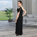 FALLON ONE SHOULDER MAXI GOWN