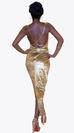 GOLDEN GODDESS MAXI GOWN