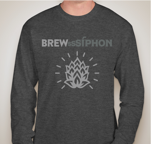 NEW* BrewSSSiphon® Long Sleeve T-Shirt