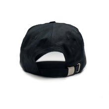 Vital Apparel Dad Hat Adjustable Strap Back Embroidered Logo - Black
