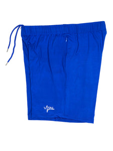 Vital Apparel Performance Training Shorts - Royal Blue
