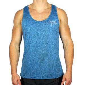 Vital Apparel Performance Tank Top - Heather Blue