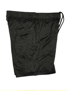 Vital Apparel Performance Training Shorts - Heather Black