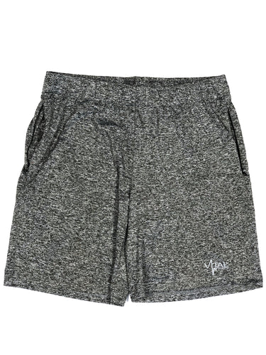 Vital Apparel Performance Training Shorts - Heather Grey