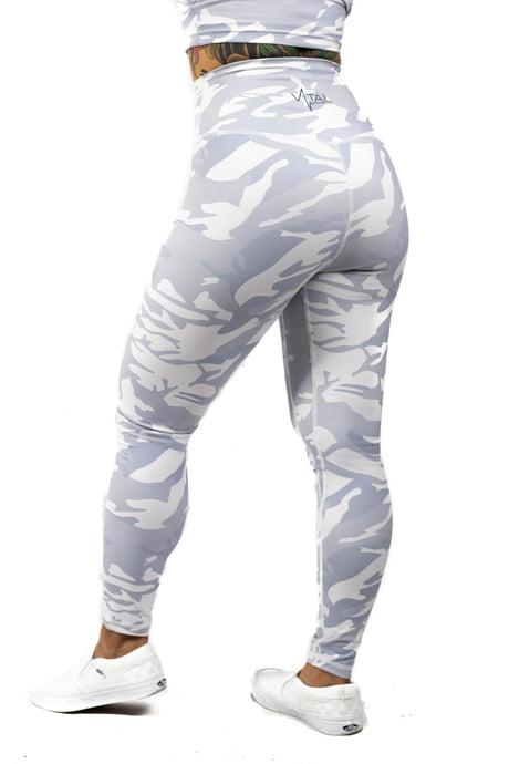 Plush V2 Combat Legging - Snow Camo