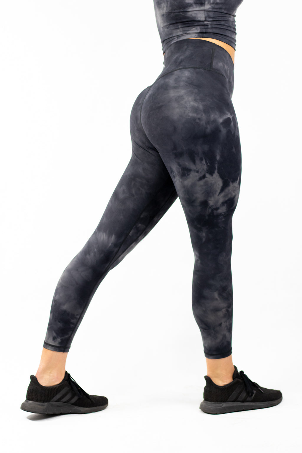 Plush V2 Combat High Waisted Workout Tie Dye Leggings Women