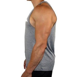 Vital Apparel Performance Tank Top - Heather Light Grey