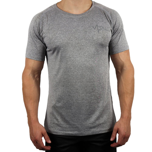 Vital Apparel Performance Shirt - Heather Light Grey