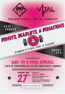 Donuts, DeadLifts, & Donations- 1 Competition Ticket