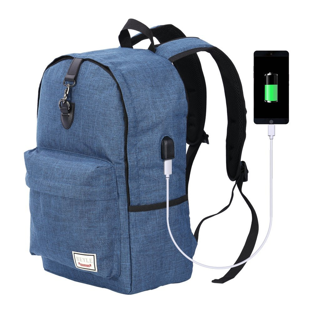 c3361ff86082 Anti Theft Backpack Waterproof Travel Bag With Usb Charging Port ...
