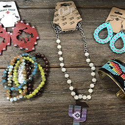 Country Western Jewelry by Crazy Train, and more!