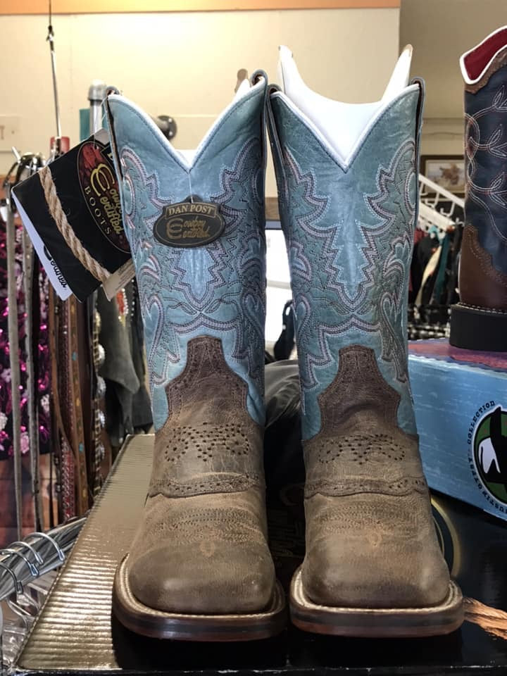 Ladies Dan Post Western Boots 7M