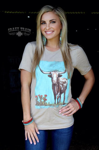 Stockyards Tee