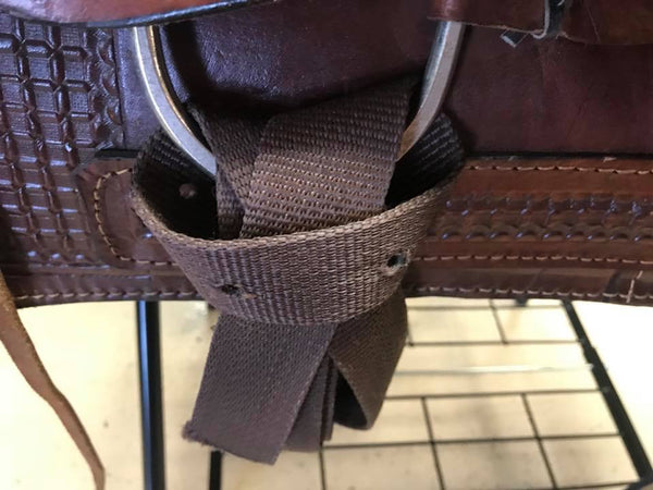 "16"" Montana Saddlery Ranch/Trail Saddle"