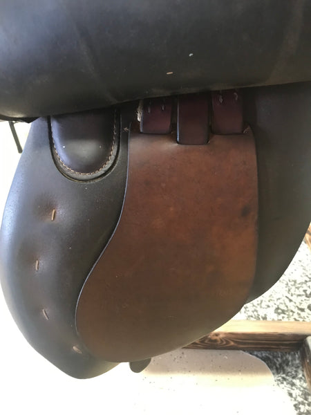 "16.5"" Crosby Mark VI A/P English Saddle Spring Tree"