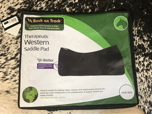 Back on Track Therapeutic Western Saddle Pad