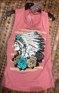 Rose Chief Tank Top