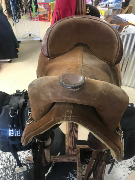 "15"" Bob Marshall by Circle Y Treeless Barrel Saddle"