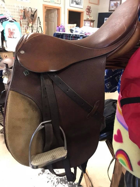 "18"" Stubben A/P English Saddle Package"