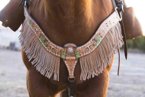 Cactus Steer Breast Collar