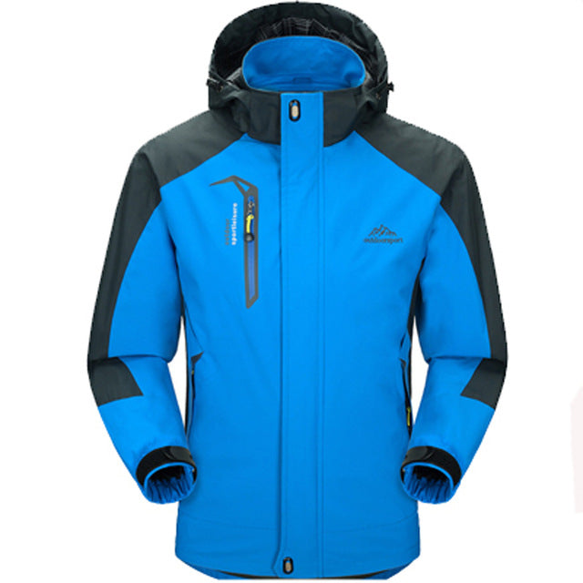 Blue Waterproof Spring Jacket