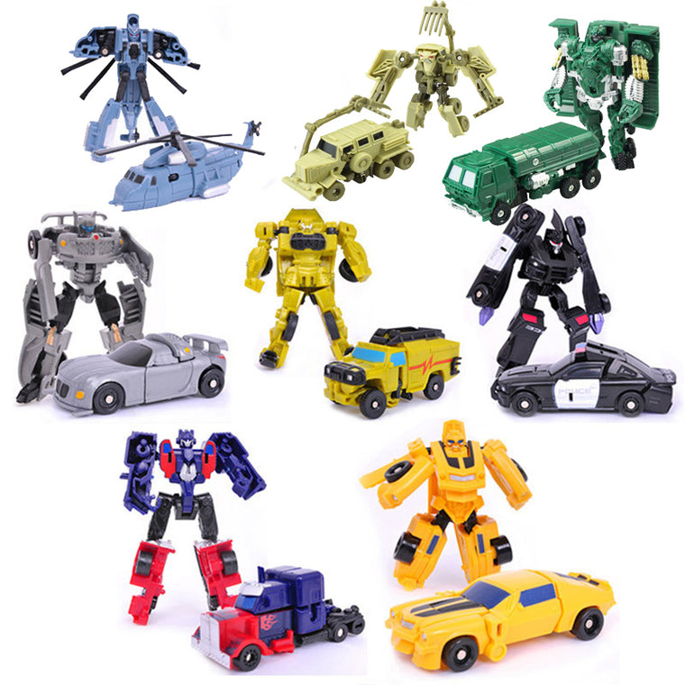Transformation Mini Cars Kid Classic Robot Car Toys For Children