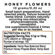 FLORANCE™ Honey Flowers Hemp CBD Paste 1000