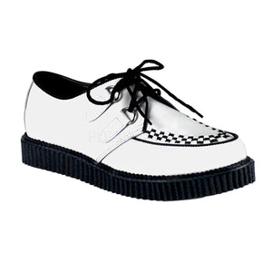Rockabilly Men's White Creepers ( Unisex )