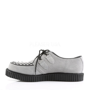 Grey Suede Rockabilly Shoes ( Unisex )