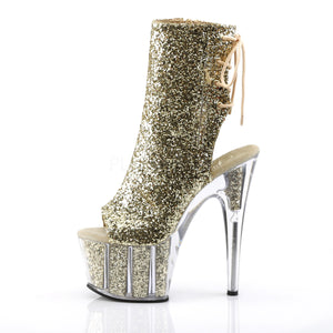 Sexy and Know It Gold Glitter Boots