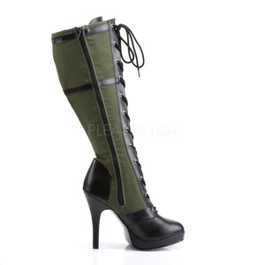 sexy military costume boots