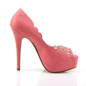 Coral Peep Toe Platforms Bella-30