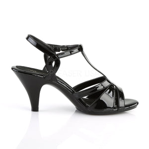 pleaser belle-322 black pa