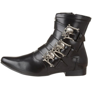 Gothic skull boots