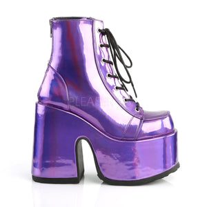 Camel Boots Purple Hologram